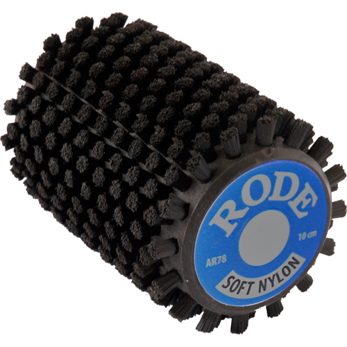 Rode rotoharja nylon leveys 100mm