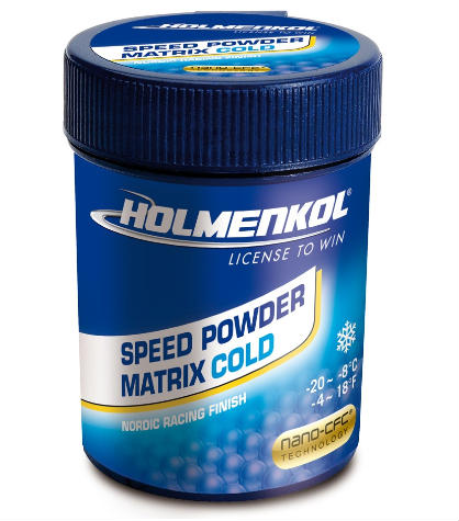 Holmenkol Speed Powder Matrix Cold fluoripulveri